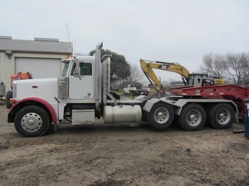 2005 Peterbilt 379exhd Triaxle Truck Equipment Usa