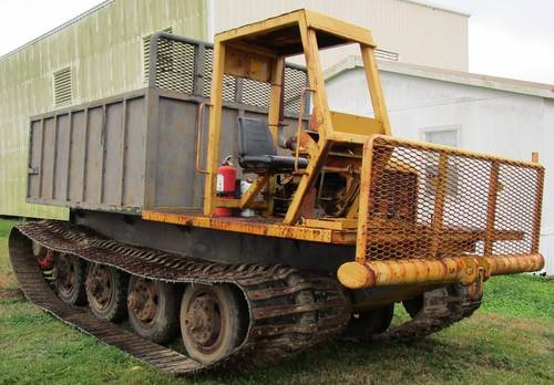 1969 Nodwell FN160 Crawler Carrier (Yellow)
